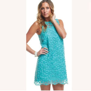 Mud Pie BagLady small floral shift overlay dress